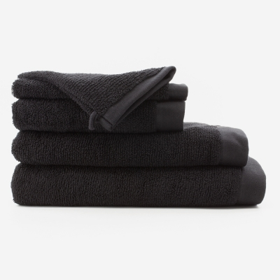 serviette de bain_noir_bathbazaar