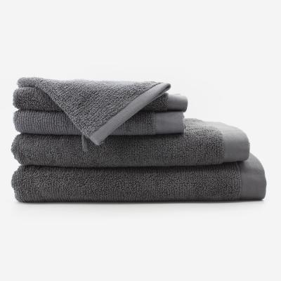 serviette de bain_gris_fonce_bathbazaar