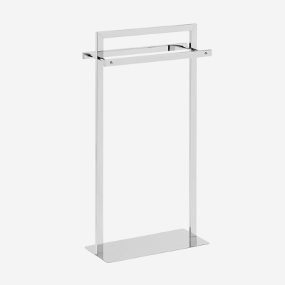 Porte-serviette inox brillant - COMPACT_016500_BathBazaar