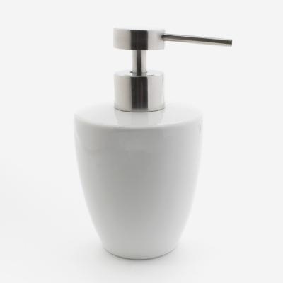 Distributeurs et porte-savons ceramique blanc_003971_bathbazaar