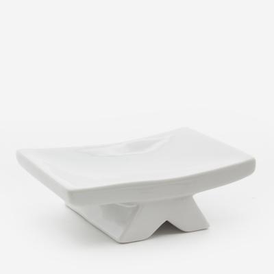 Distributeurs et porte-savons ceramique blanc_003975_bathbazaar