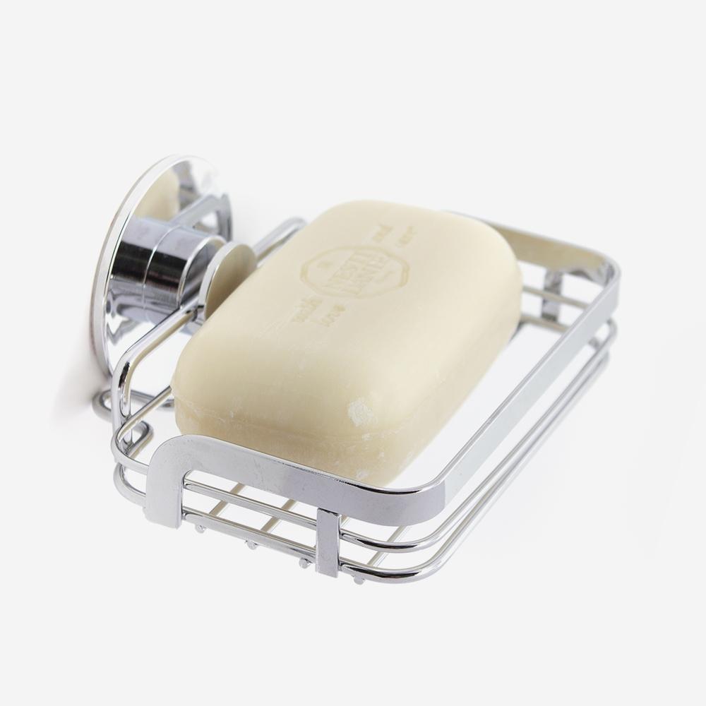 porte savon à coller ventouse - Bath Bazaar