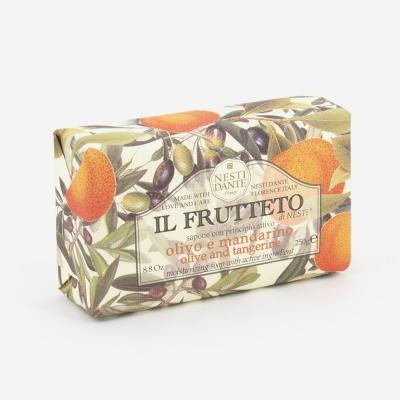 savon huile d'olive et mandarine - Fruteto - Bath Bazaar