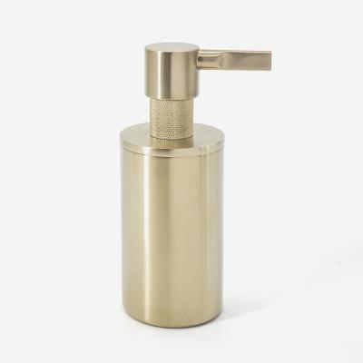 distributeur de savon doré en inox - 016651 - Bath Bazaar