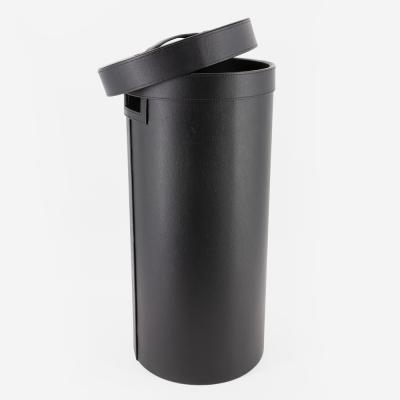 Panier à linge noir- Hudson - 016593 - Bathbazaar