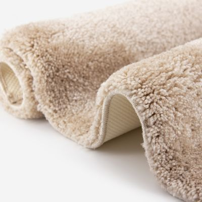 Tapis de bain grège 2050 g/m² polyamide et dos latex - Dolce